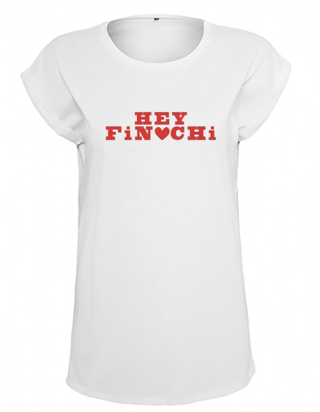 "FiNCH ASOZiAL - T-Shirt Girlie ""Hey Finchi"""