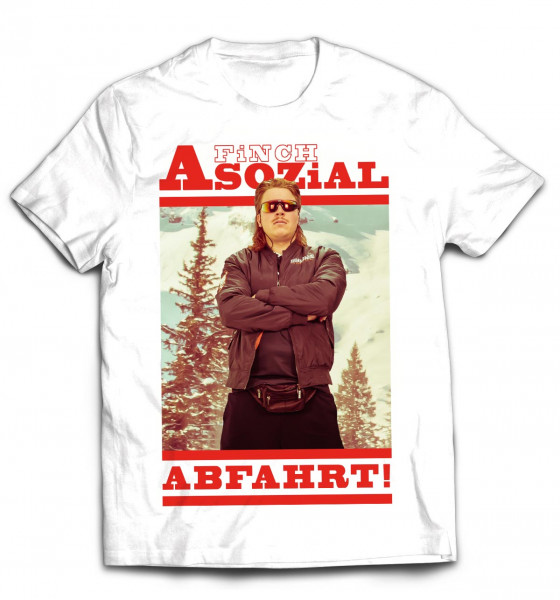 FiNCH ASOZiAL - T-Shirt Abfahrt